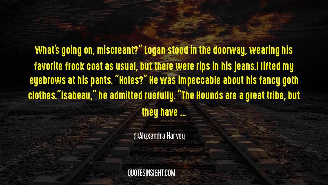 Coat quotes by Alyxandra Harvey