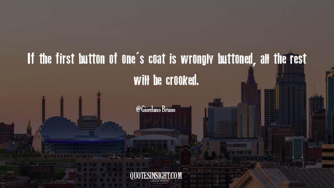 Coat quotes by Giordano Bruno