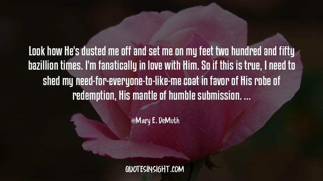 Coat quotes by Mary E. DeMuth