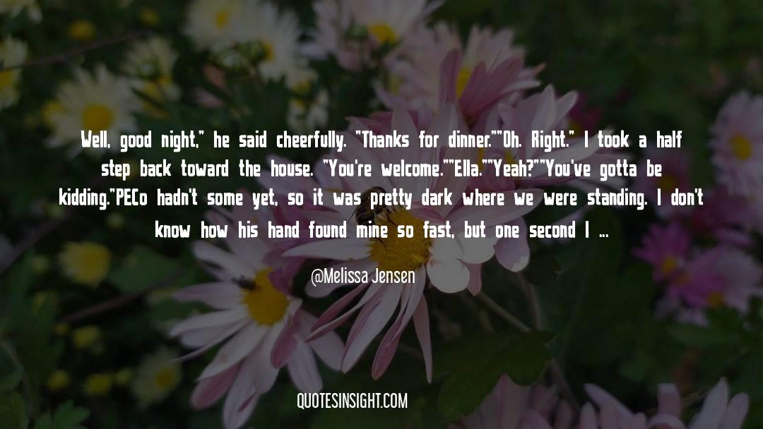 Coat quotes by Melissa Jensen