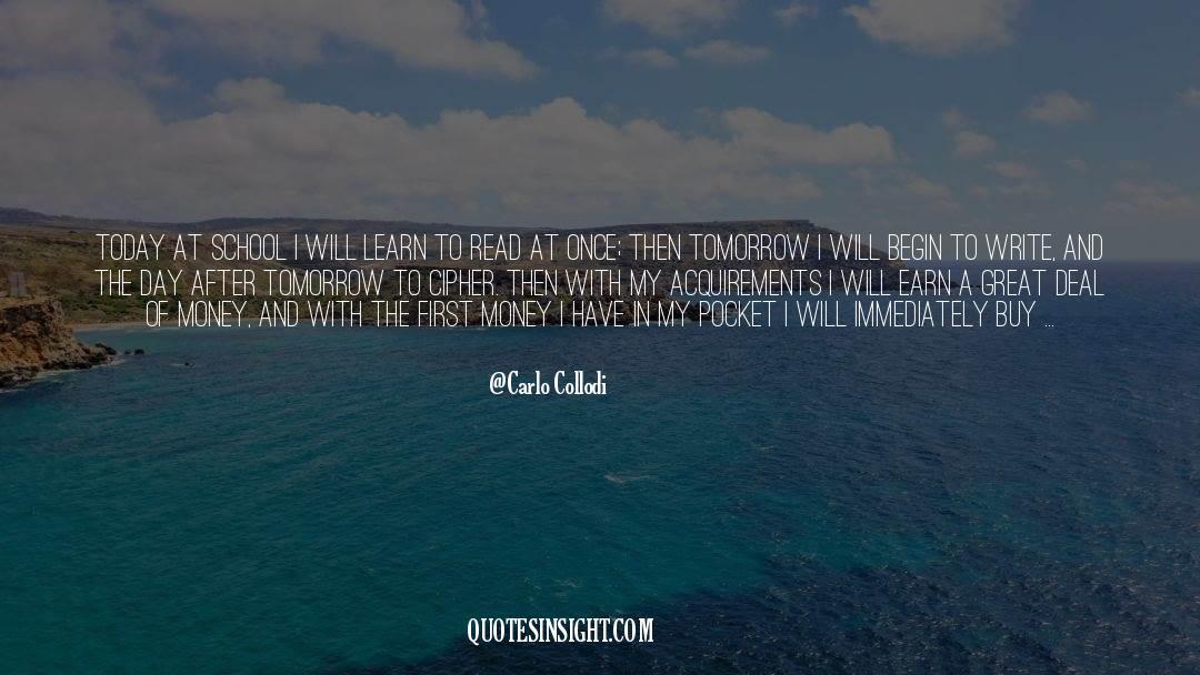 Coat quotes by Carlo Collodi