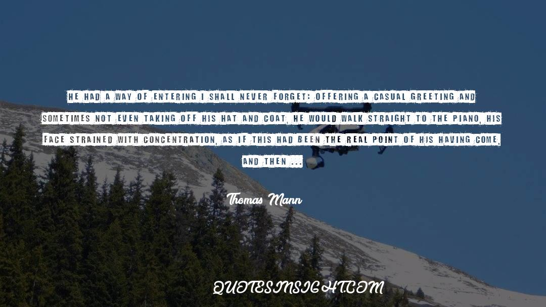 Coat quotes by Thomas Mann