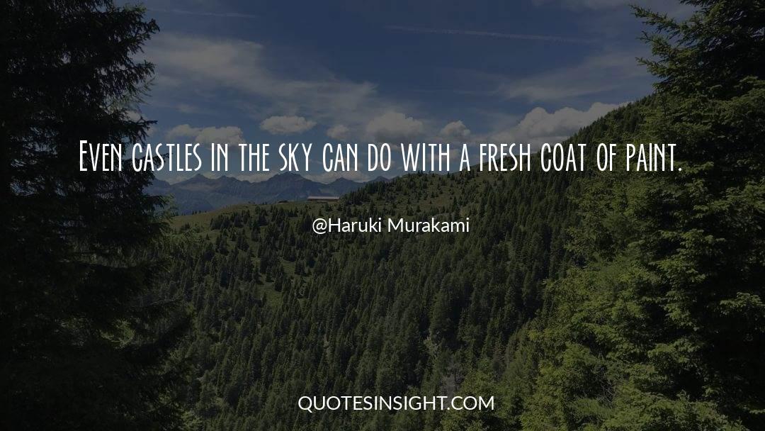 Coat quotes by Haruki Murakami