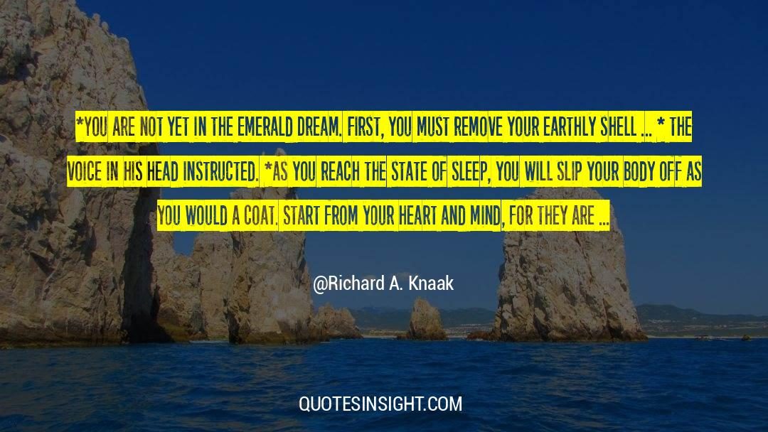 Coat quotes by Richard A. Knaak