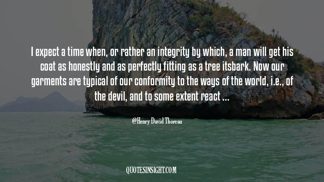 Coat quotes by Henry David Thoreau