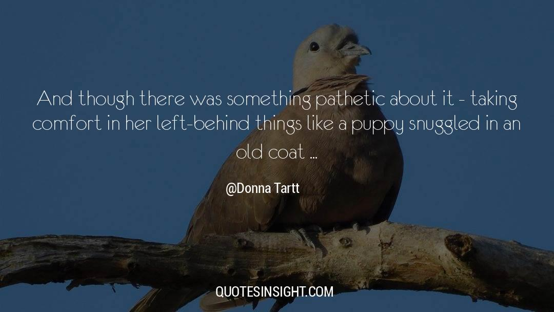 Coat quotes by Donna Tartt