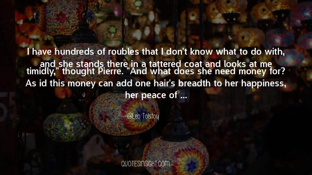 Coat quotes by Leo Tolstoy