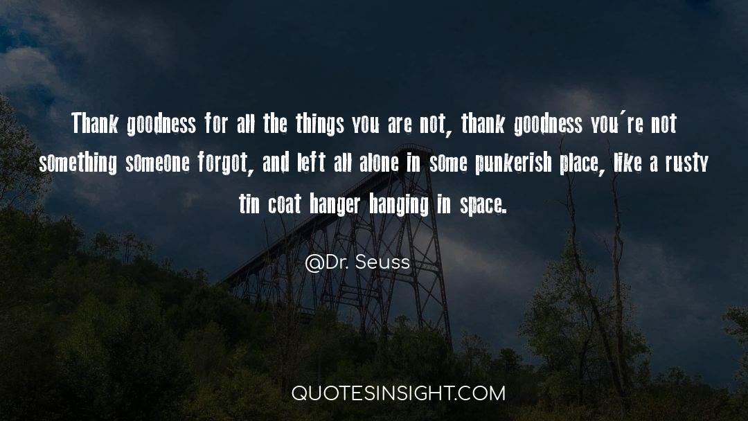 Coat quotes by Dr. Seuss