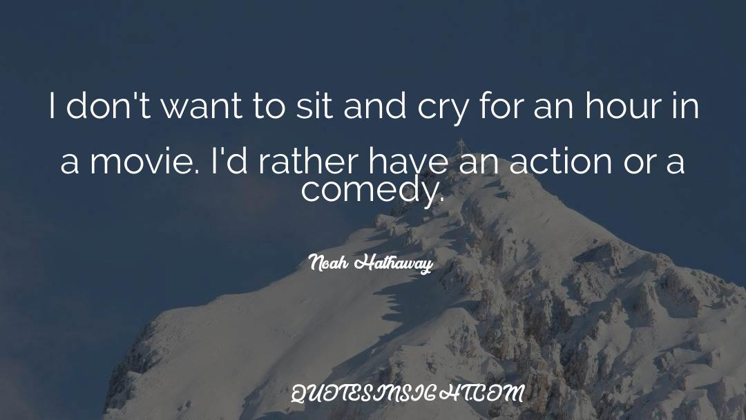 Comedy Satire quotes by Noah Hathaway
