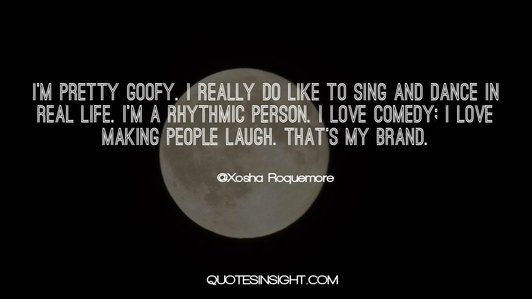 Comedy Satire quotes by Xosha Roquemore