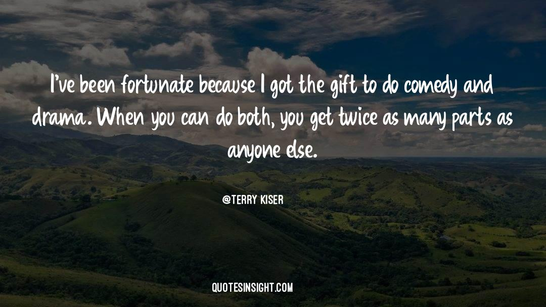 Comedy Satire quotes by Terry Kiser