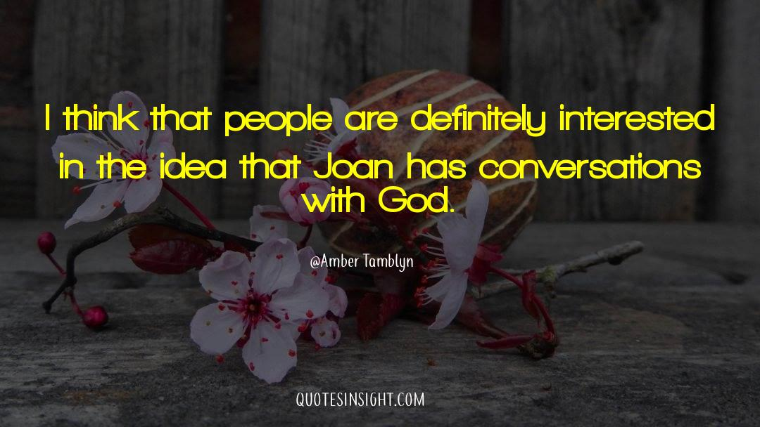 Conversations With God quotes by Amber Tamblyn