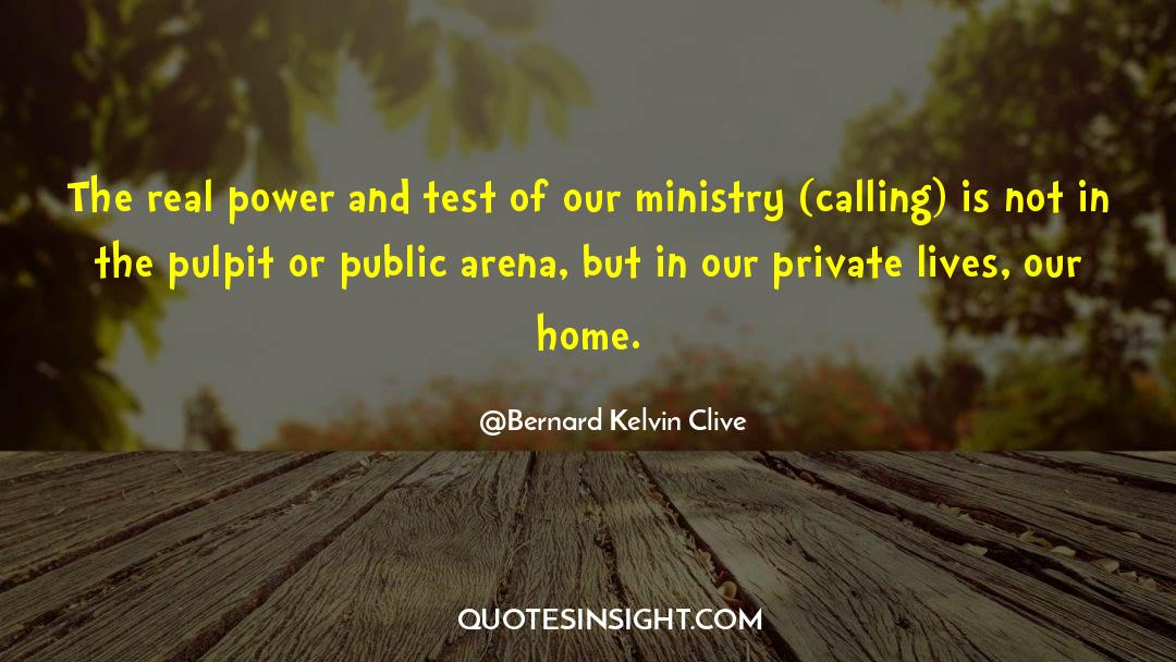 Corrupt Power quotes by Bernard Kelvin Clive