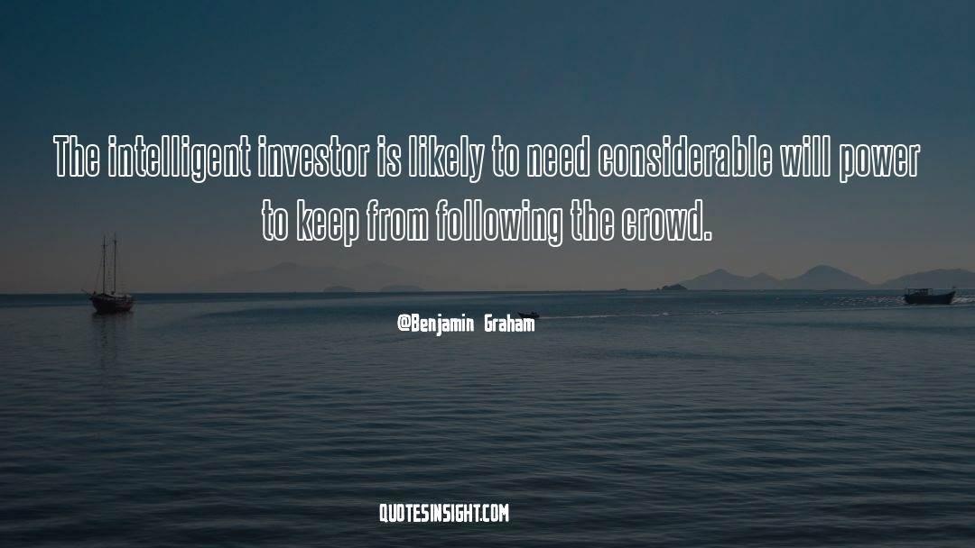 Corrupt Power quotes by Benjamin Graham