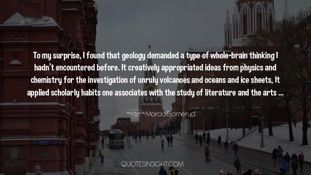 Corrupt Power quotes by Marcia Bjornerud