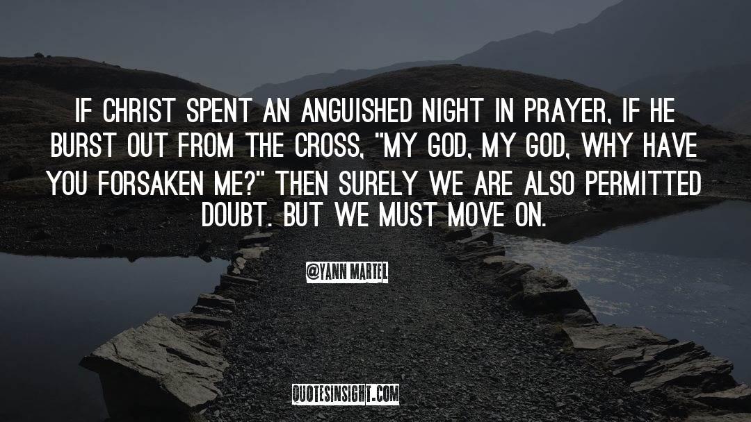 Cross Stitch quotes by Yann Martel