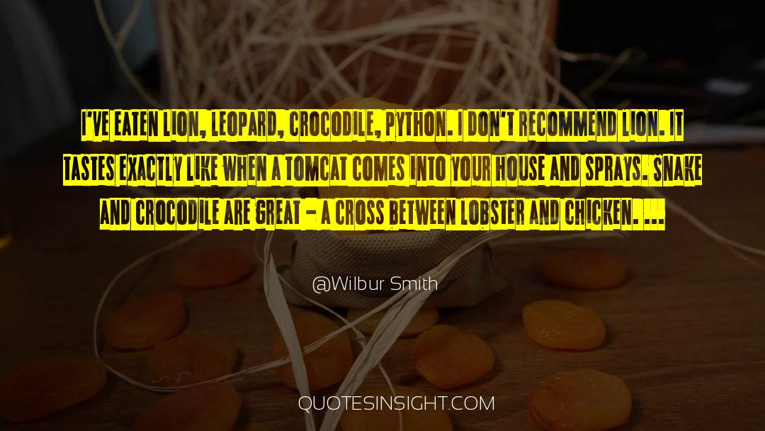 Cross Stitch quotes by Wilbur Smith