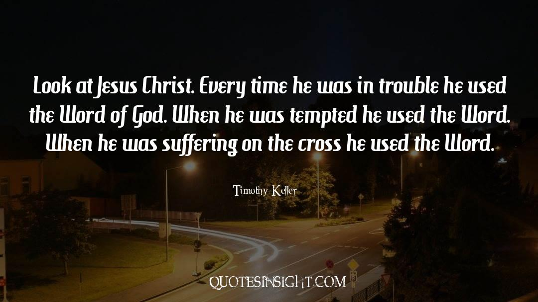 Cross Stitch quotes by Timothy Keller