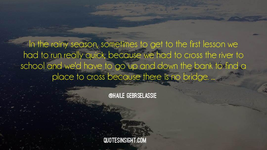 Cross Stitch quotes by Haile Gebrselassie
