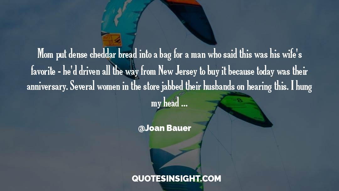 Cross Stitch quotes by Joan Bauer