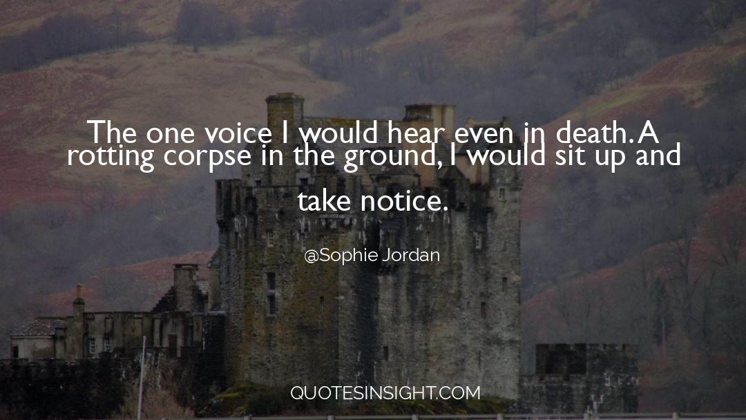 Death Killing quotes by Sophie Jordan