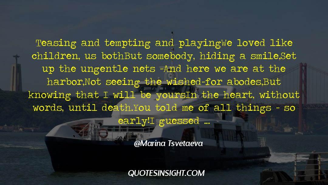 Death Killing quotes by Marina Tsvetaeva