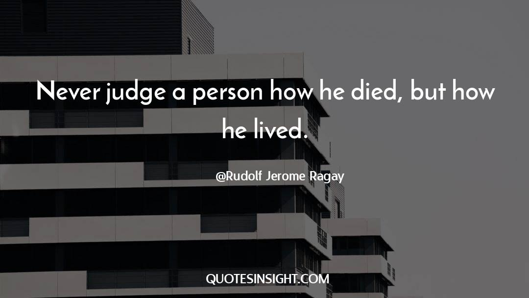 Death Killing quotes by Rudolf Jerome Ragay