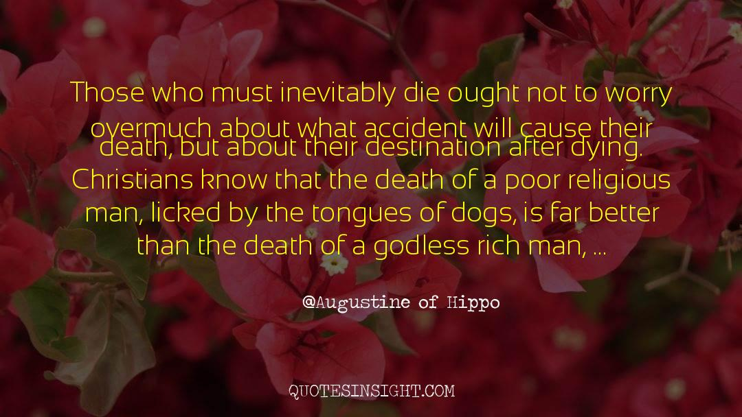Death Killing quotes by Augustine Of Hippo