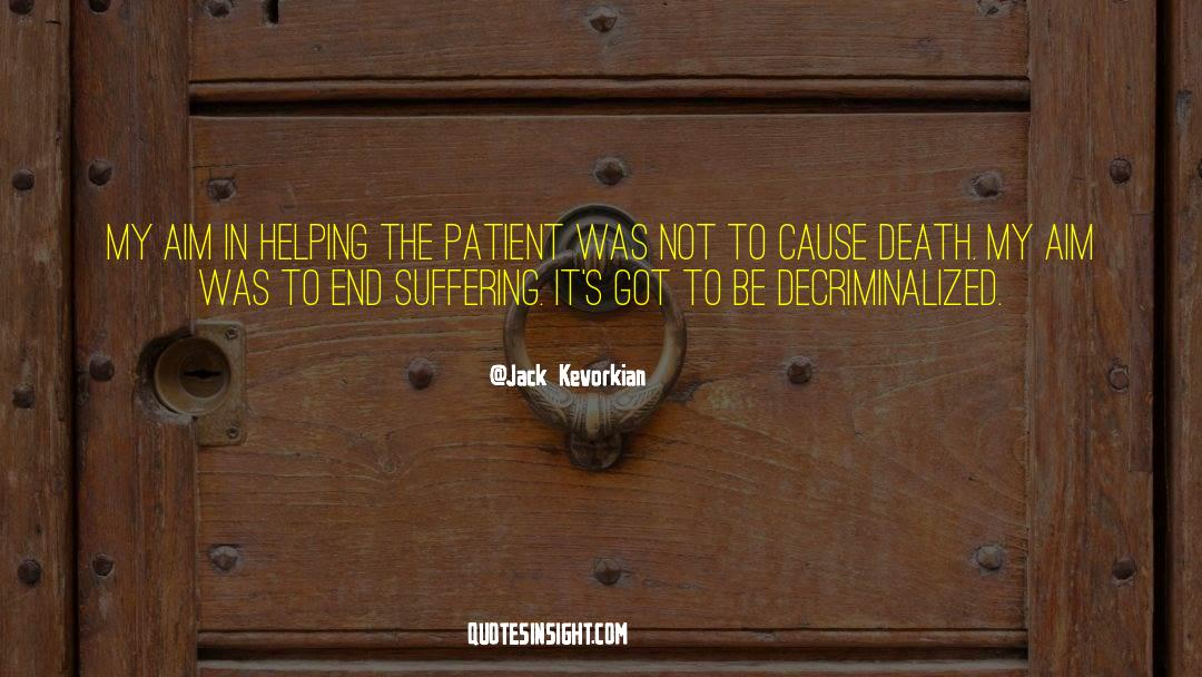 Death Killing quotes by Jack Kevorkian