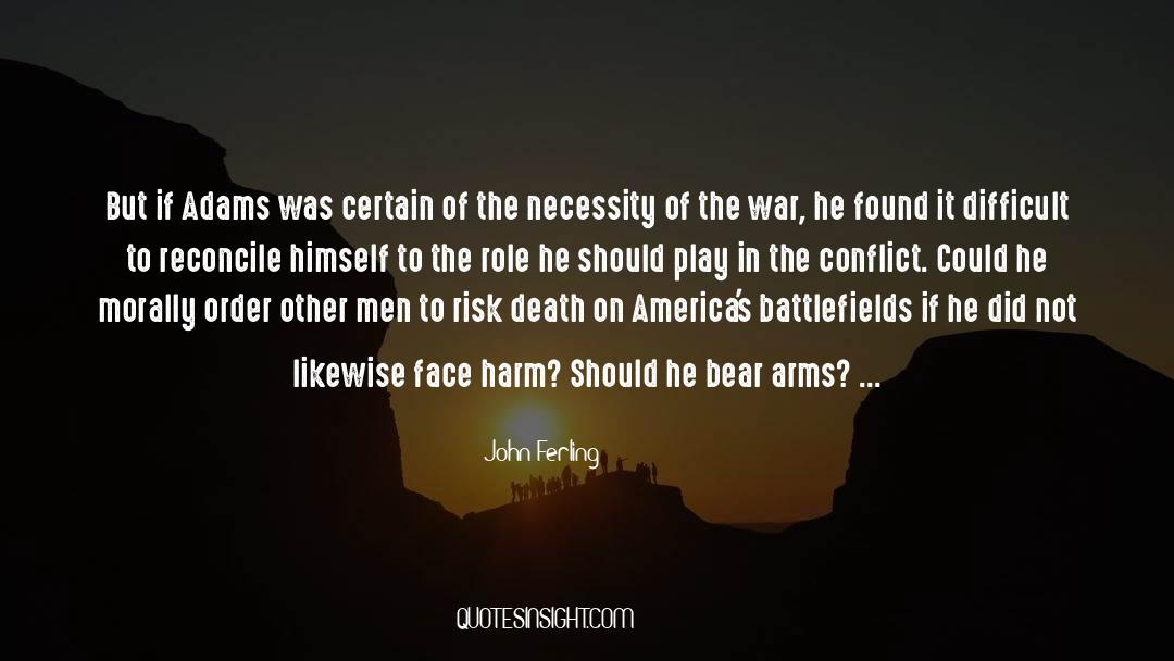 Death Killing quotes by John Ferling