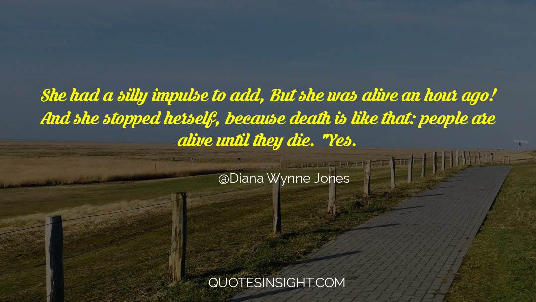 Death Killing quotes by Diana Wynne Jones