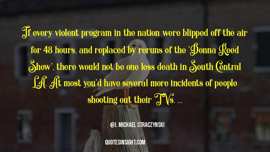 Death Killing quotes by J. Michael Straczynski