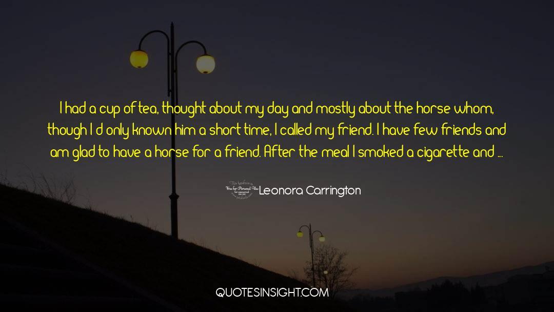 Death Killing quotes by Leonora Carrington