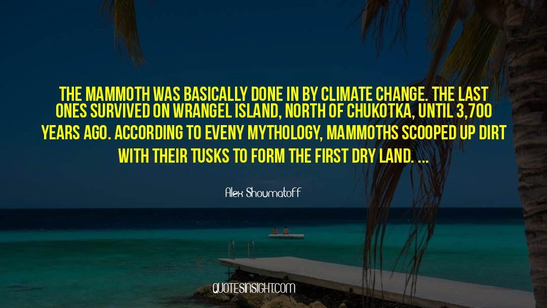Deserted Island quotes by Alex Shoumatoff