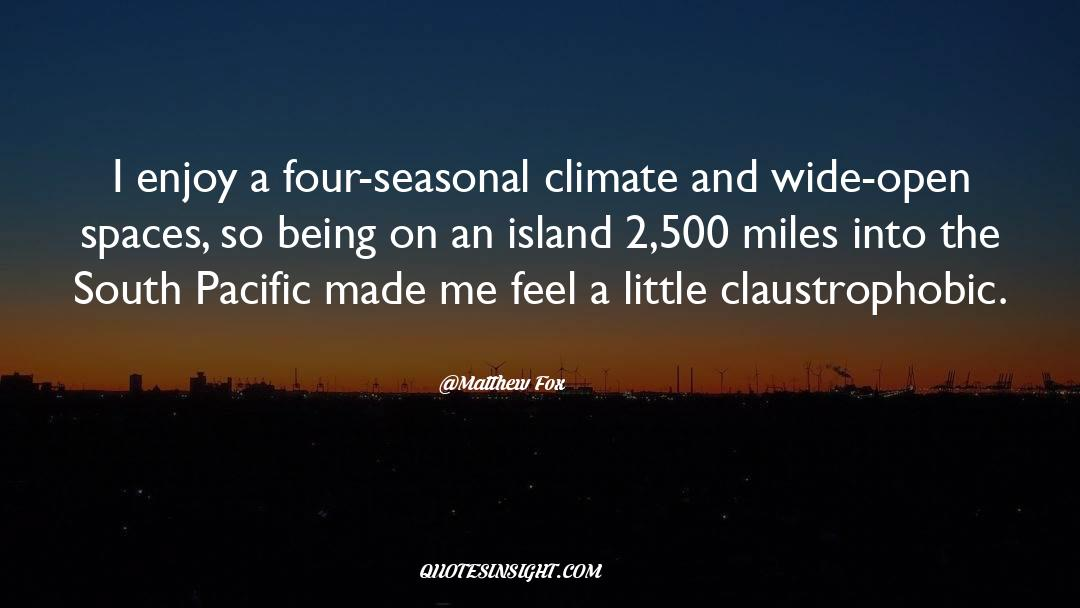 Deserted Island quotes by Matthew Fox