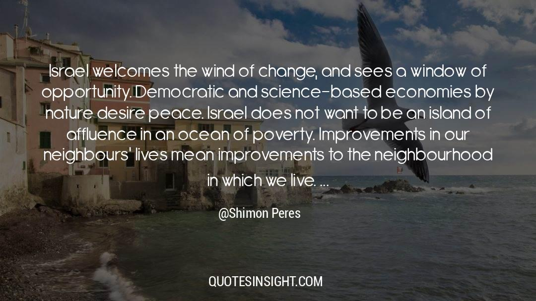Deserted Island quotes by Shimon Peres