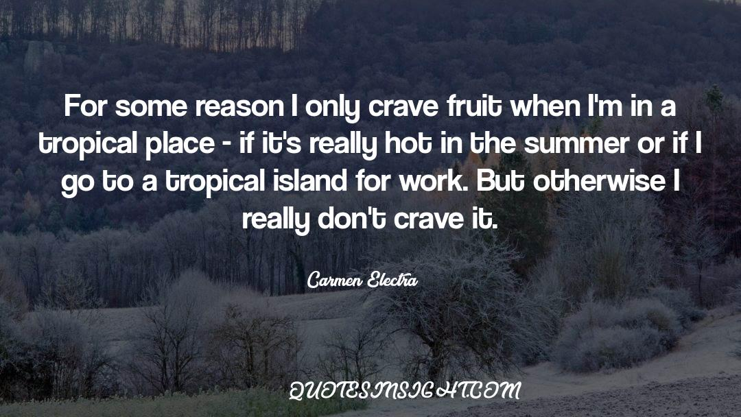 Deserted Island quotes by Carmen Electra