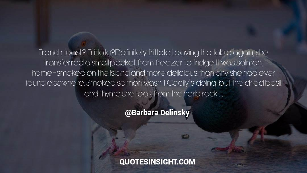 Deserted Island quotes by Barbara Delinsky