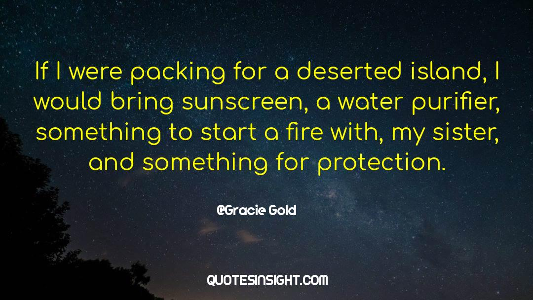 Deserted Island quotes by Gracie Gold