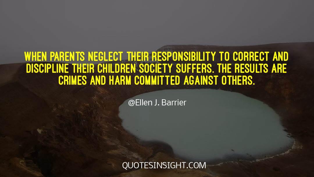 Discipline And Punish quotes by Ellen J. Barrier