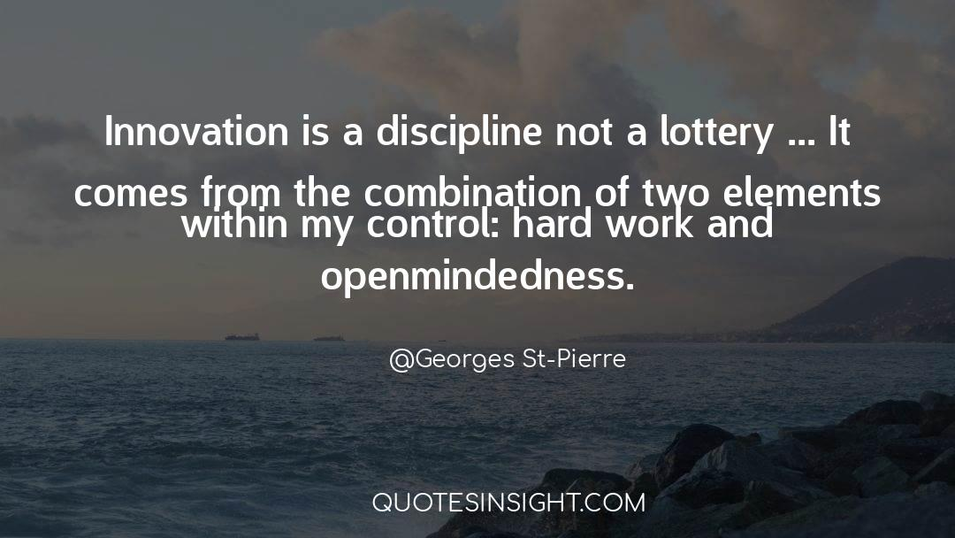Discipline And Punish quotes by Georges St-Pierre