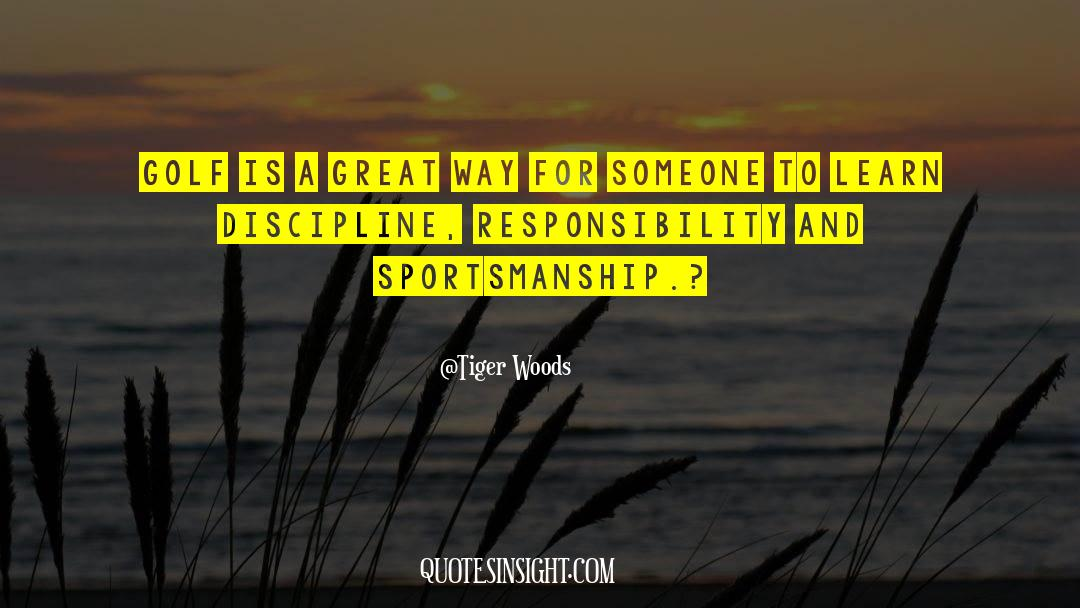 Discipline And Punish quotes by Tiger Woods
