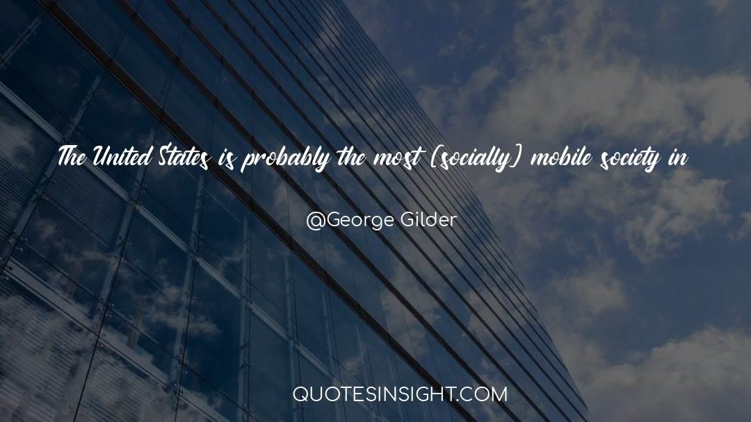 Discipline And Punish quotes by George Gilder