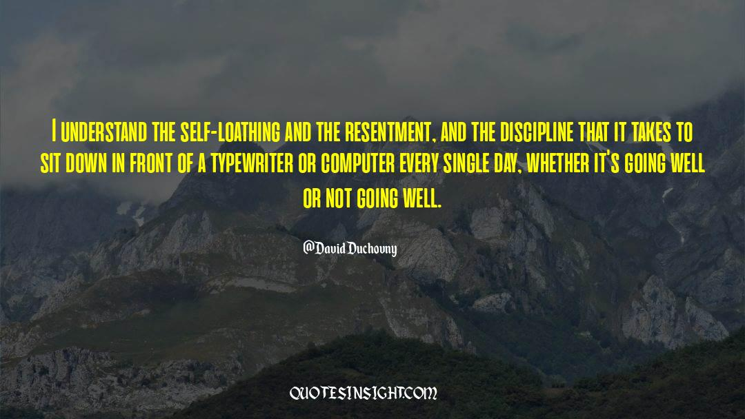 Discipline And Punish quotes by David Duchovny