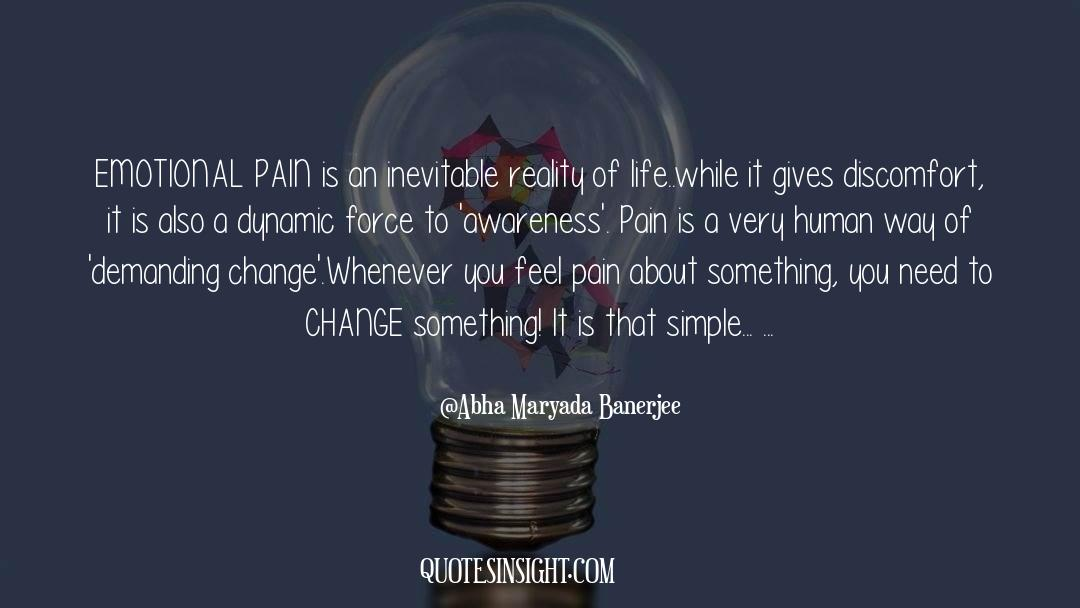 Emotional Balance quotes by Abha Maryada Banerjee