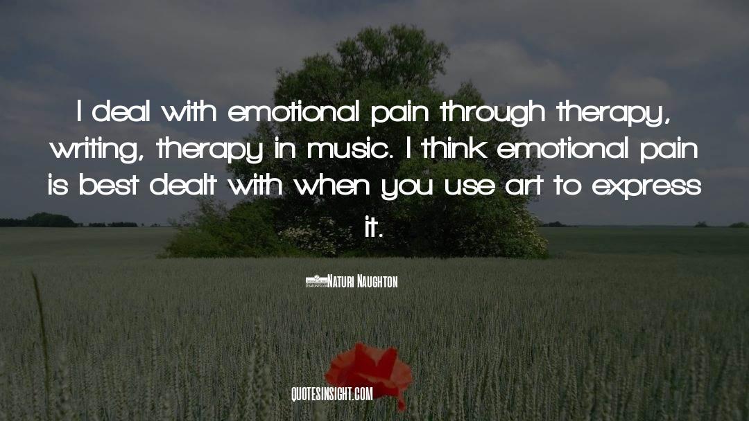 Emotional Balance quotes by Naturi Naughton