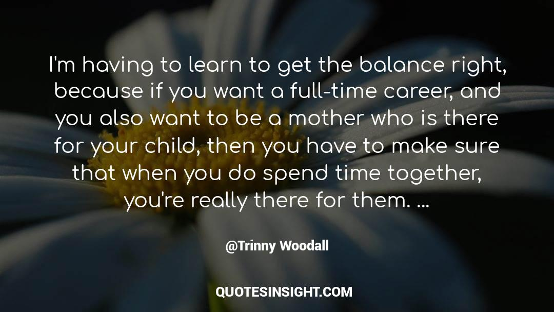 Emotional Balance quotes by Trinny Woodall