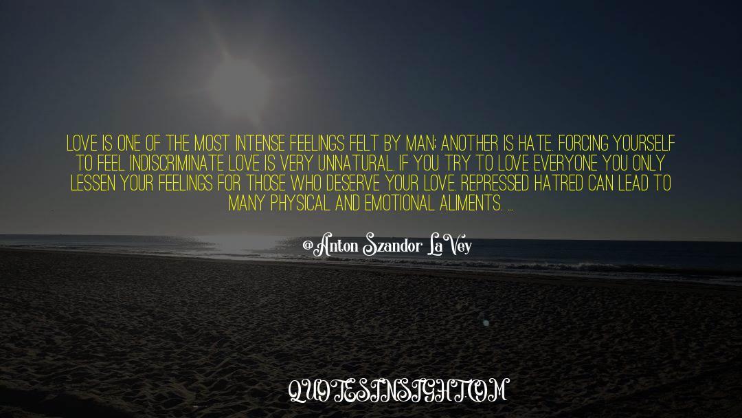 Emotional Balance quotes by Anton Szandor LaVey