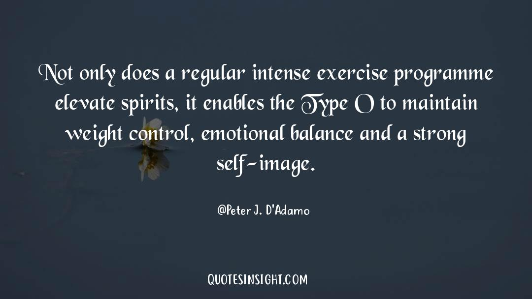 Emotional Balance quotes by Peter J. D'Adamo