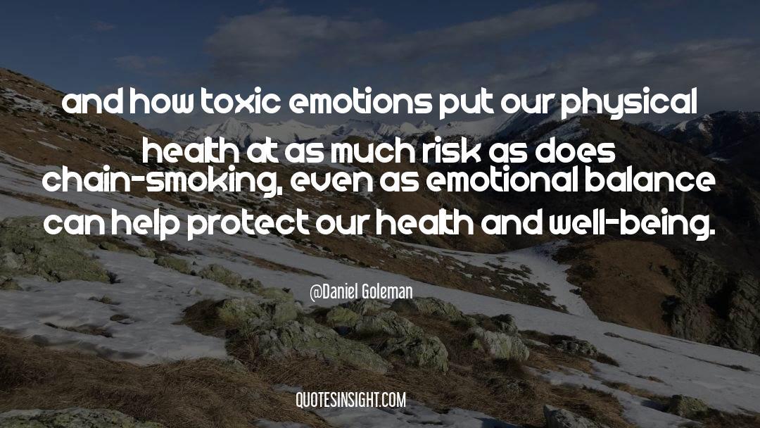 Emotional Balance quotes by Daniel Goleman